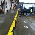 Completed 150ft New Angle Iron & Newly Installed Bumpers, National Grid - Boston MA