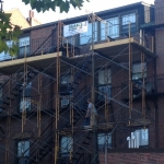 Historical Restoration on Mass Ave, Boston, MA