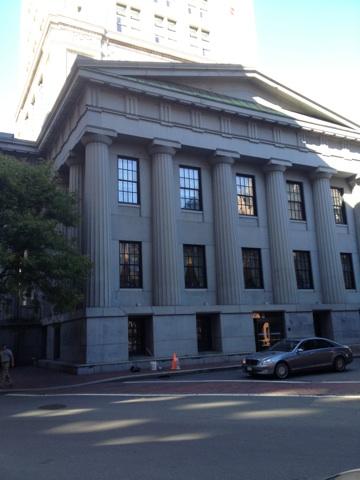 The Marriott Custom House Boston