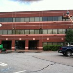 Waterproofing & restoration on South Bay Mental Health in Brockton, MA